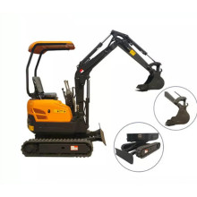 Excavator Mini Murah Wheel Crawler 1600kg