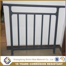 Straight or Curved Aluminum/Iron Balcony Railing Designs