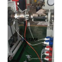 Экструзионная линия для производства труб из полиэтилена, армированных спиральной спиралью