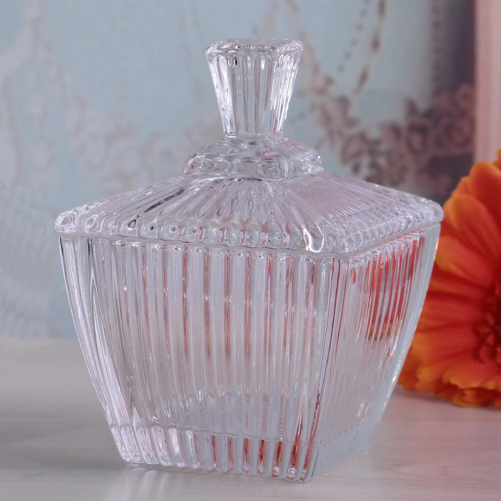 Br 1706square Glass Candy Jar Of Mercury Effectclear