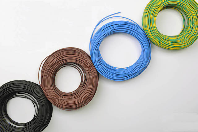 Pvc Insulated Wire Cable Multi Color Ul1007 Ul1015