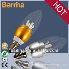 2013 super bright led candle lamps E14