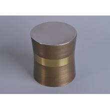 Metal Candle Jar with Metal Lid
