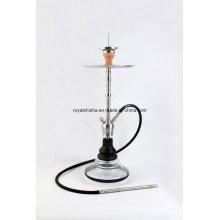 Tubo de água de fumar de aço inoxidável novo estilo Shisha Hookah