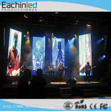 P3.9 LED-Videowand mit Mesh-Vorhang und Mirage-LED