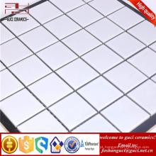 telha branca da piscina da fábrica da porcelana, projeto cerâmico da telha de mosaico