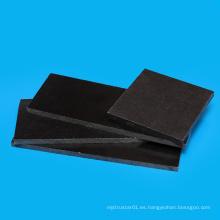 Hoja promocional de plástico blanco y negro de acetal