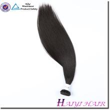 Livraison gratuite pour la nuit droite cheveux péruviens cheveux vierges bundles avec la fermeture de dentelle malais cheveux raides