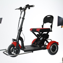 foldable 3 wheel maxload 120kg light pride mobility scooter