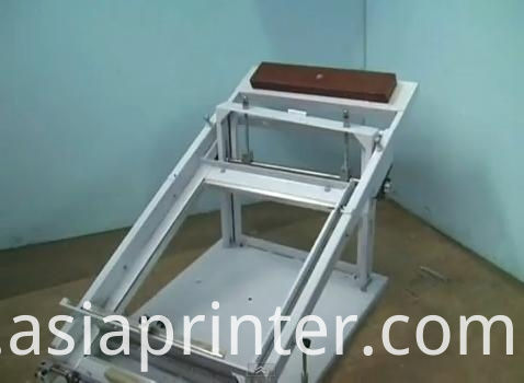 Manual Cylinder Screen Printing Machine