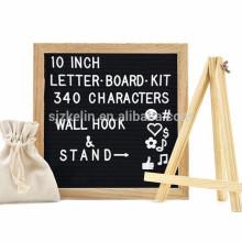 Oak Frame 10 x 10 Filz Brief Board mit Holzständer