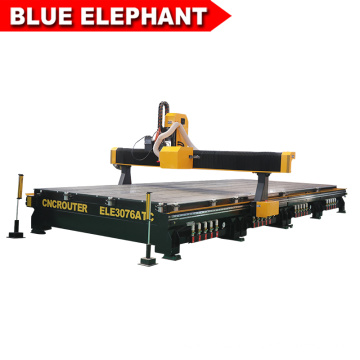 BLUE ELEPHANT New large cnc wood carving machine 3000*7600 with multi-function