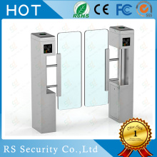 Fingerprint Card Turnstile Access Swing Barrier Gate