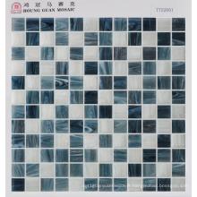 Mosaïque en verre 23 * 23mm Floor Tile