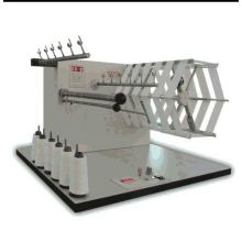 Thread length measurement machine/winding sample thread cone machine