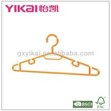 PS suspensão de plástico com racks para tie e barra de calças
