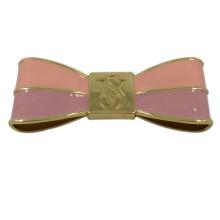 Handtasche Zubehör Rosa Metall geklebt Bowknot Label