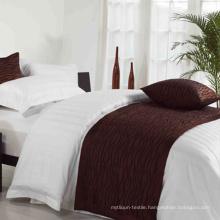 100% Polyester Bed Runner Factory (DPH7788)