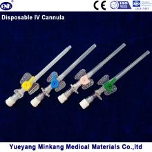 Медицинская одноразовая канюля IV / катетер типа бабочки