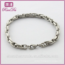 Alibaba hot sale simple stainless steel bracelets