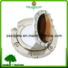 Модная вешалка для кошельков с бриллиантами и зеркалом (B1)