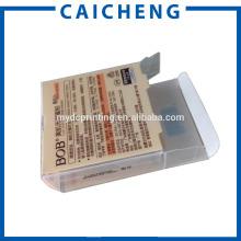 Loose powder cosmetic package plastic PET box