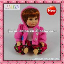 Ceramic decorative small dolls porcelain doll