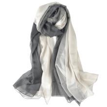 nice full length and comfortable stylish printed custom logo print hijab gradient ramp Polyester scarf