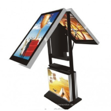 42inch und 55inch doppelte Seiten LCD-Anzeige 2000nit