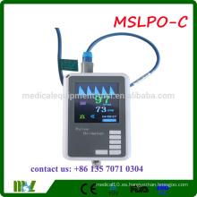 MSLPO-C 2016 Oxímetro de pulso portátil de pulso del paciente portátil oxímetro de pulso