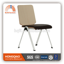 CV-B191BS siège en métal chromé PU siège fixe chaise d'école avec haute quanlity