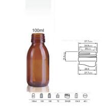 Bouteille en verre sur mesure de 100 ml (NBG09)