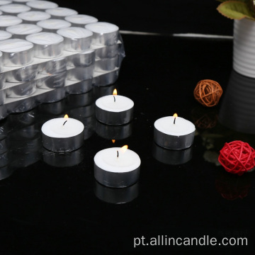 Velas da luz do chá 8hours vela decorativa tealight