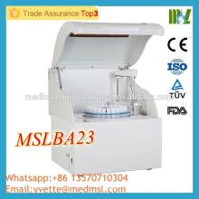 MSLBA23M Analyseur automatique de biochimie automatique de haute qualité Analyseur biochimique automatique complet