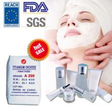 Anatase Titanium Dioxyd am besten für Kosmetik mit FDA (A200)