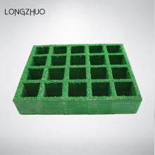 Литая квадратная сетка 50 * 50 Стеклопластик Решетка для дерева
