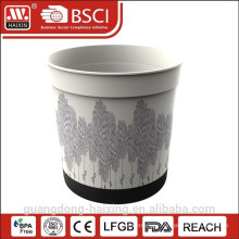 In-Mold labeling Plastic Flower Pot