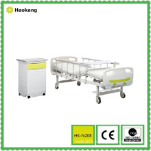 Lit d'hôpital pour équipement médical réglable manuelle (HK-N208)