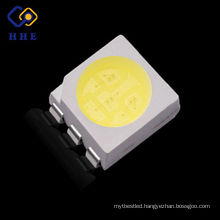 super bright 0.2w led smd 5050 white 6 pin smd led chip for strip