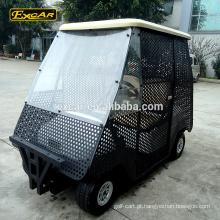 Fechar 2 lugares bola pegar carrinho carrinho de golfe elétrico carrinho de golfe elétrico carro de buggy