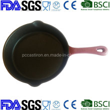 10′′ Real Nonstick Cast Iron Frying Pan China Factories