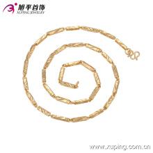 Collar de joyería de moda Xuping 18k oro-plateado de los hombres en aleación de cobre 42734