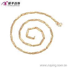 Fashion Xuping 18k Gold-Plated Men′s Jewelry Necklace in Copper Alloy 42734