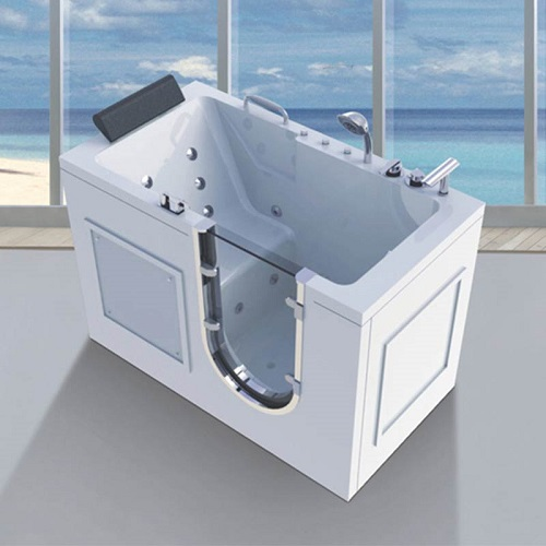China hot sale large walk-in bathtub