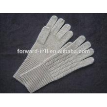 Reine Farbe 100% Kaschmir-Handschuhe