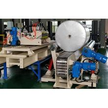 Paper reel wrapping system