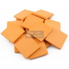 Suelto de cerámica naranja de cuerpo completo para artesanía de cerámica