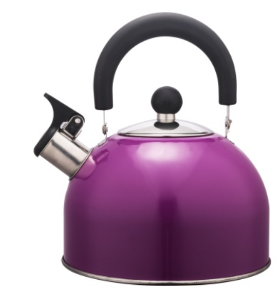 KHK003 1.5L Stainless Steel color painting Teakettle purple color
