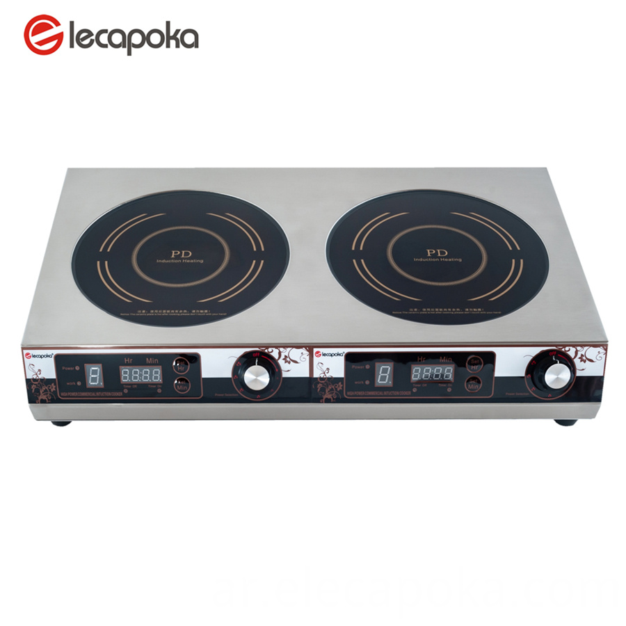 2 burner induction cooktop