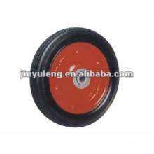 10 inch solid rubber wheel for tool cart